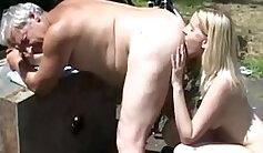 Cam slut enjoys deep rimming of her big ass