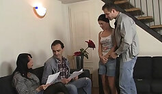 Brenda Russo pounds her pussy of stepmom and girlfriend - view full video