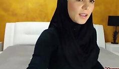 Arab bbw ebony Her job is to film and polish her tight pussy