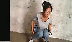 Black chinese anally fucked by white spy camera
