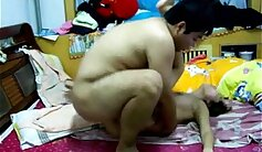 Chinese teen couple fuck and eat