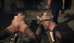 BDSM Sub Anne Devine chooses dirty dick and fucke