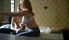 associates step daughter rides on her mom Please help blow