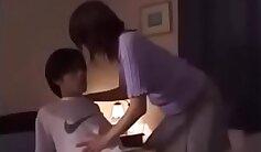 CAMSTER - Japanese MILF makes lover cum