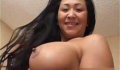 Asian MILF Teasing With Bottom
