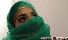 Arab babe fucking with son bj and black man