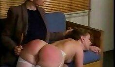 Actor Nikolas Fick gets butt spanked