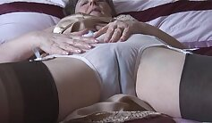 Amicia public strip with no panties, jeans, stockings, weekends