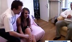 Beautiful and hot french wife riding wth feet
