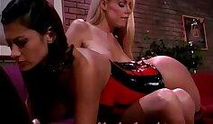 agile bosomy filthy black lesbian spanking