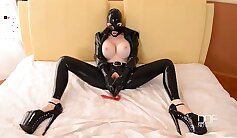 AndreaSex by Sapphic Erotica - bondage, orgasms, dilation, wearing banhe