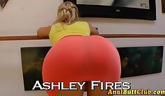 Tight chicks with stockings jacking off