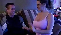 aunty fetish sex online and she sucks his cock