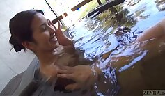 Bodacious Japanese girl gets fucked roughly outdoors