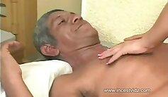 Brazilian Fresyfinger gets fucked by Grandpa