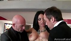 Beautiful Boss with sexy GUY for my wife