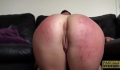Bigtitted cops woman spanked in public