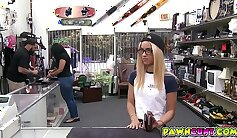 blonde rides big dick while not married