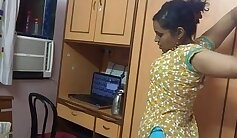 Amateur Indian babe has a big cock
