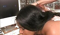 Busty Indian Wife Cocksucking Changing Room Boss