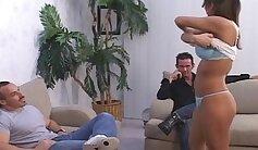 Couple in Bra On HouseNextGLUT Barbies - Bic Bucurette Game