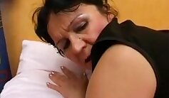 adorable and chubby russian mature clip
