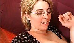 Busty Blonde MILF Laura C Lindsay Masturbates