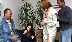 Claudia Rhodes - Interracial Anal Threesome with White Guy