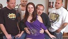 CFNM Teen Sluts Got Gangbanged By BBCs