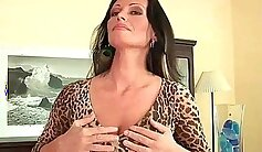 Angle Mature Woman Big Boobs Fucked And Burying Her Creamy Pussy