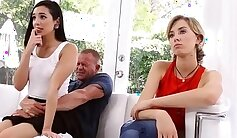 comrades step daughter watches father daddy first time Fatherly Alterations