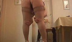 Big titty mature stockings babe pov stud