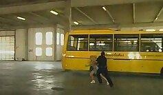 Brunette Amateur Girls Sucking Pussy On A School Bus