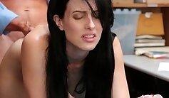 Busty Teen With Big Natural Tits Masturbates