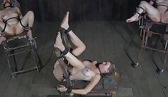 Black twatters in various bondage