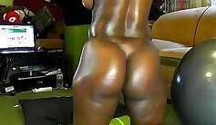 Appetizing oriental with a nice round ass is craving for the man