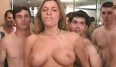 Barely Legal Brunette Bitches Bukkake KATIE SEX