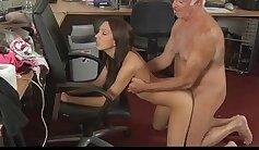 lucky guy tricked David Strickl by Natasha