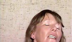 Laughing Classy Brunette Granny German Banged In Public Garden