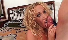 Busty milf creampied and facialized