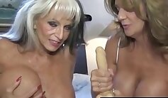 Sexy Cougar Teaches His Slave How To Have Fun