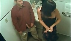 Angeles Cabs Flashed By Drivers In Public Bathroom