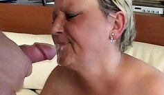 Amateur Older Latina MOM Fucked by Young Man