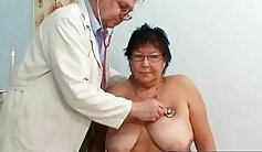Astonishing dark haired gal with big tits is fucked tough