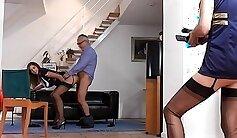 Amazing Mature Threesome - POV
