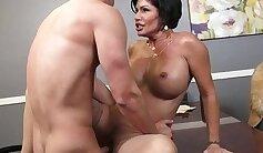 Best pornstars Ramon Nomar, Shay Fox, Amanda Begg in Horny MILF, Brunette xxx clip