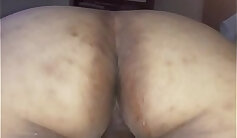 BBW gets a hard pecker in reverse cowgirl style