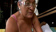 Aubrey Sinclair copulate mature granny