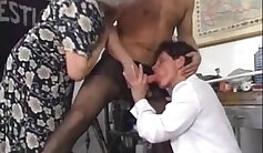 Balsa Beastie - Dirty granny with big tits orgy