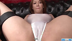 Cock collector from Japan Kururo Kamijo gets her sweet pink pussy impaled